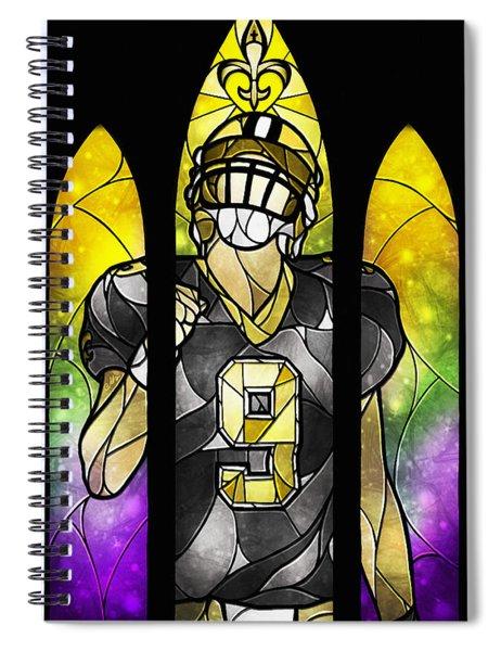 Saint Brees Spiral Notebook