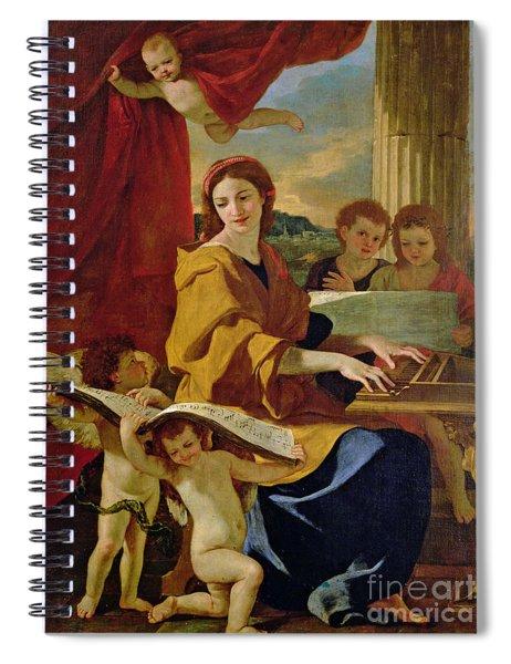 Saint Cecilia Spiral Notebook
