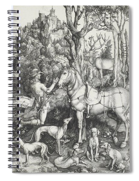 Saint Eustace Spiral Notebook