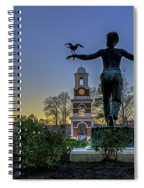 Saint Francis On Campus Spiral Notebook