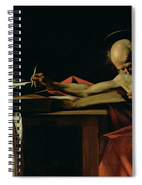 Saint Jerome Writing Spiral Notebook