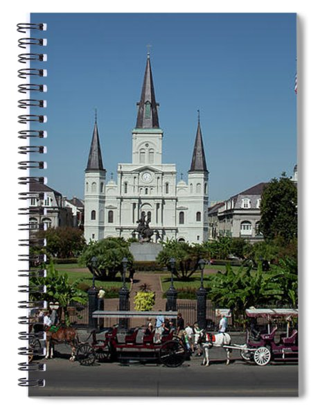 Saint Lewis Cathedral French Quarter New Orleans, La Spiral Notebook