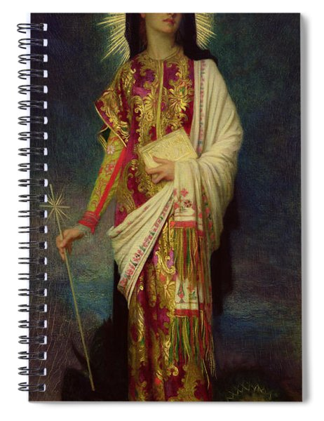 Saint Margaret Slaying The Dragon Spiral Notebook