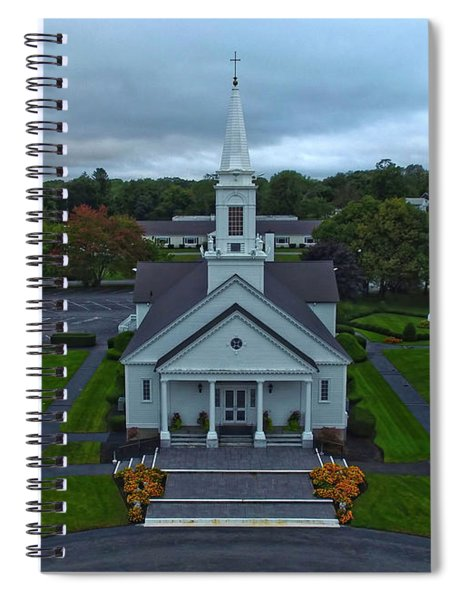 Saint Mary's Church From Above Spiral Notebook
