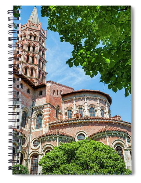 Saint Sernin Basilica Spiral Notebook