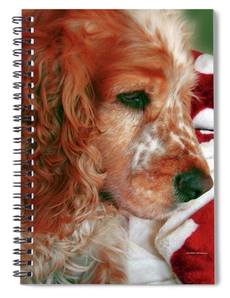 Saint Shaggy Art Photograph  14 Spiral Notebook