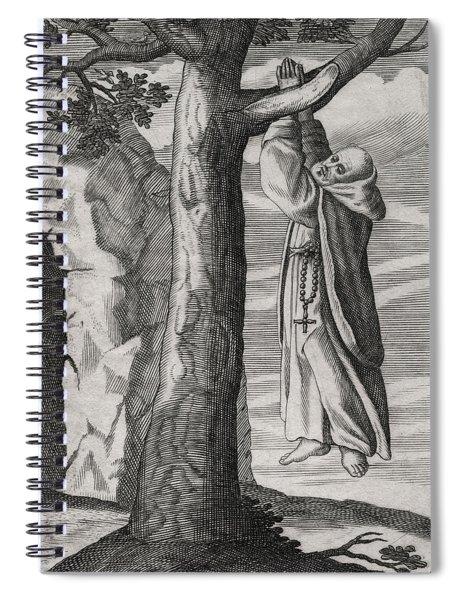 Saint Victorinus Does Penance Spiral Notebook
