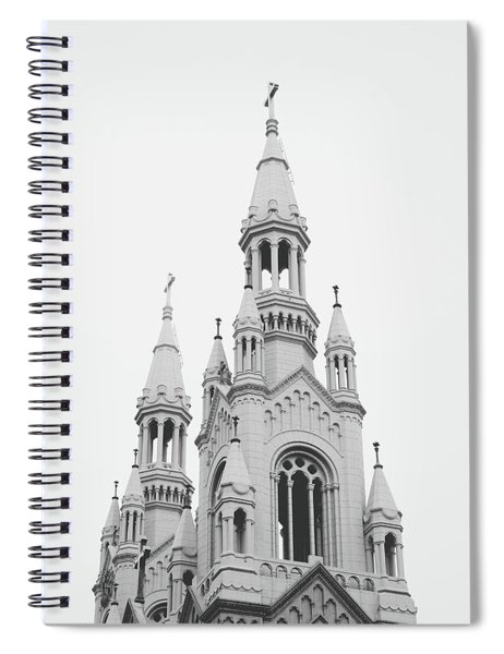 Saints Peter And Paul Church 1- By Linda Woods Spiral Notebook