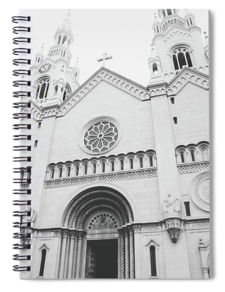 Saints Peter And Paul Church 2-  By Linda Woods Spiral Notebook