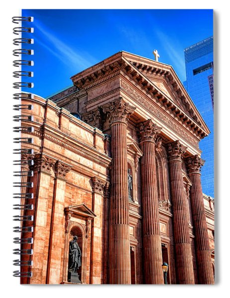 Saints Peter And Paul In Philadelphia   Spiral Notebook
