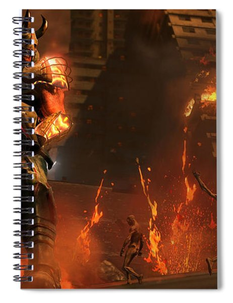 Saints Row Iv Re-elected Spiral Notebook
