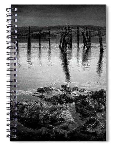 Salen Pier, Isle Of Mull Spiral Notebook