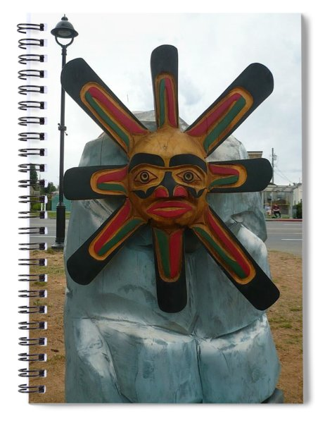 Salish Sun Spiral Notebook