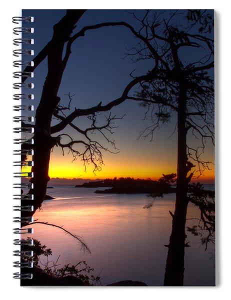 Salish Sunrise Spiral Notebook