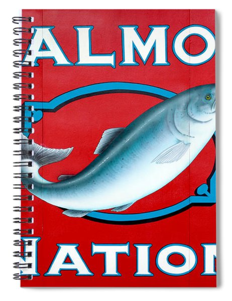 Salmon Nation Spiral Notebook