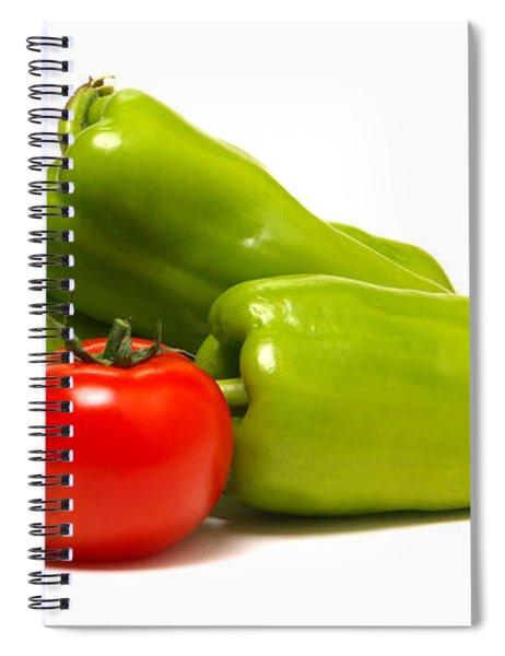 Salsa Spiral Notebook
