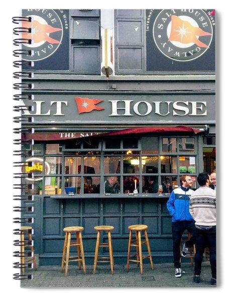 Salt House Bar, Galway Spiral Notebook