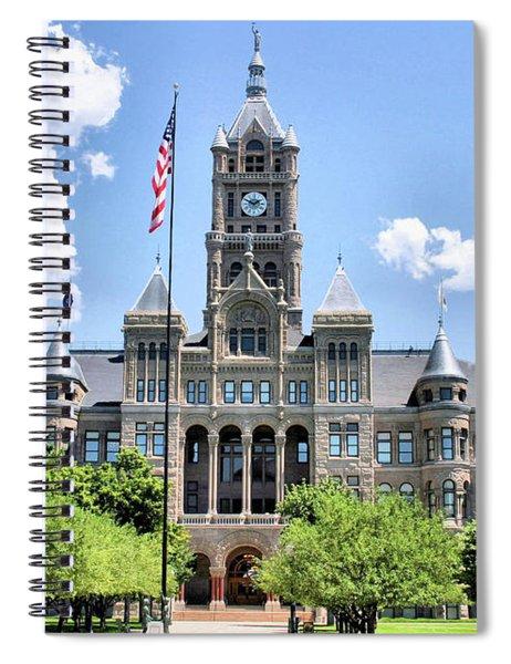 Salt Lake City County Building Spiral Notebook