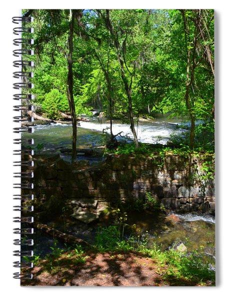 Saluda River Columbia Sc Spiral Notebook