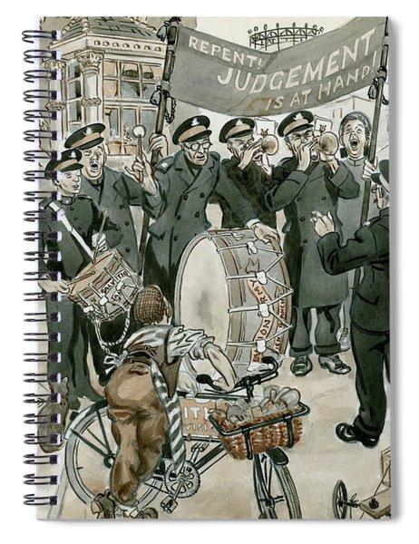 Salvation Army Spiral Notebook