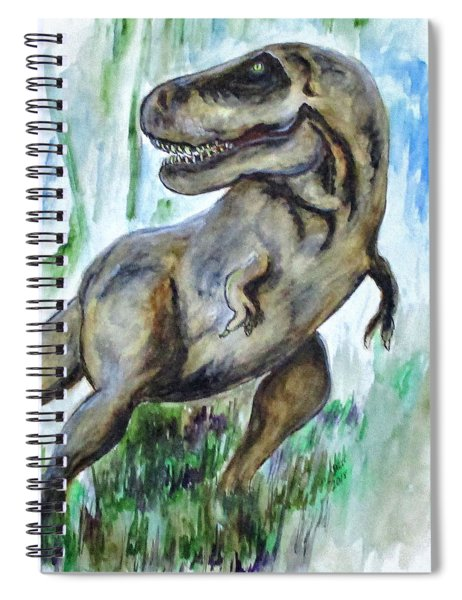 Salvatori Dinosaur Spiral Notebook