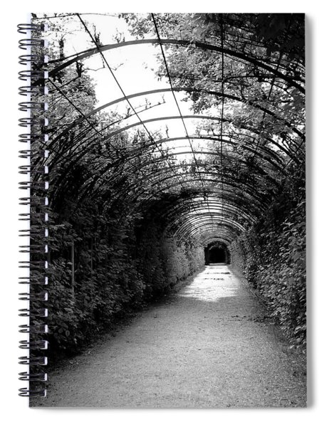 Salzburg Vine Tunnel - By Linda Woods Spiral Notebook