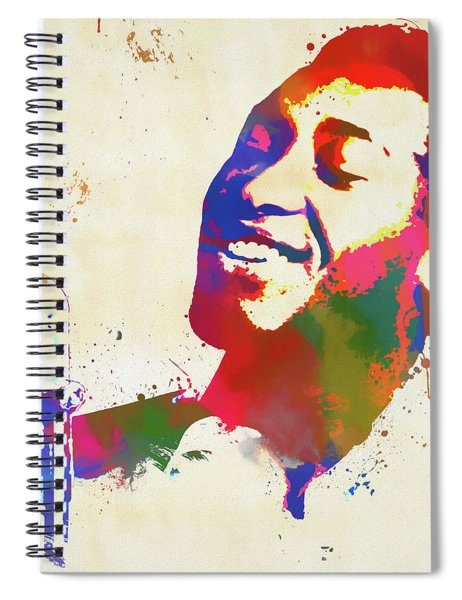 Sam Cooke Spiral Notebook