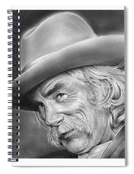 Sam Elliott Spiral Notebook