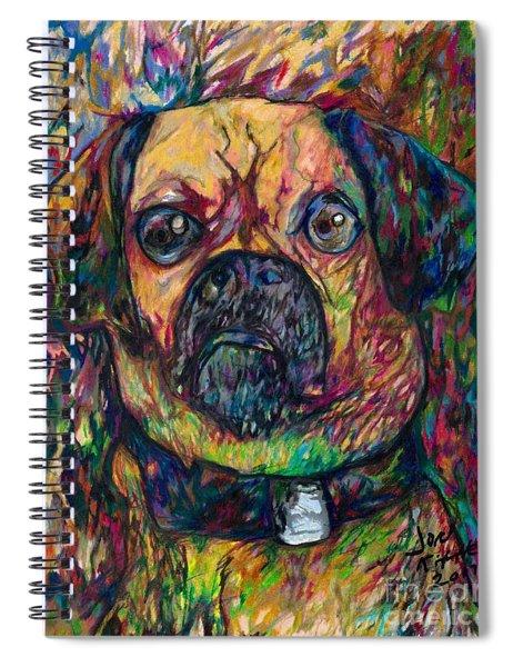 Sam The Dog Spiral Notebook