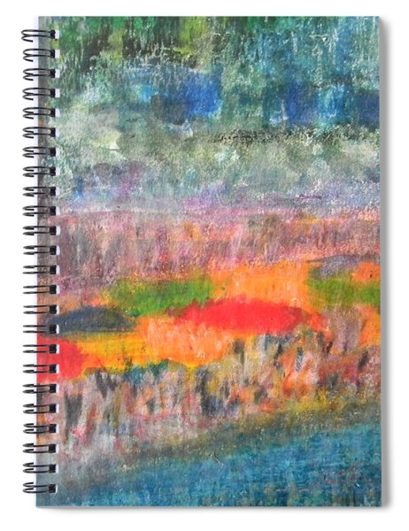 San Antonio By The River II Spiral Notebook