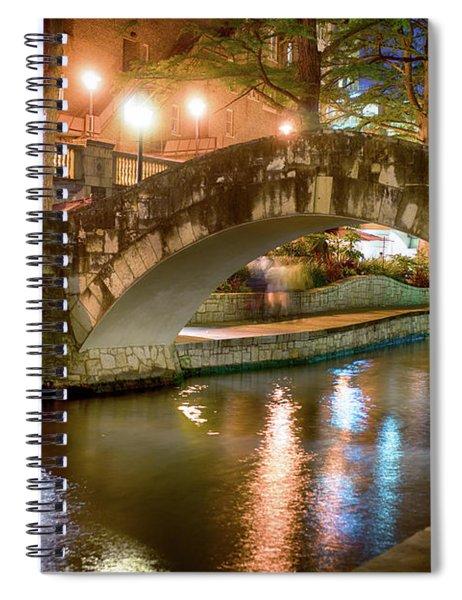 San Antonio River Walk V1 Spiral Notebook