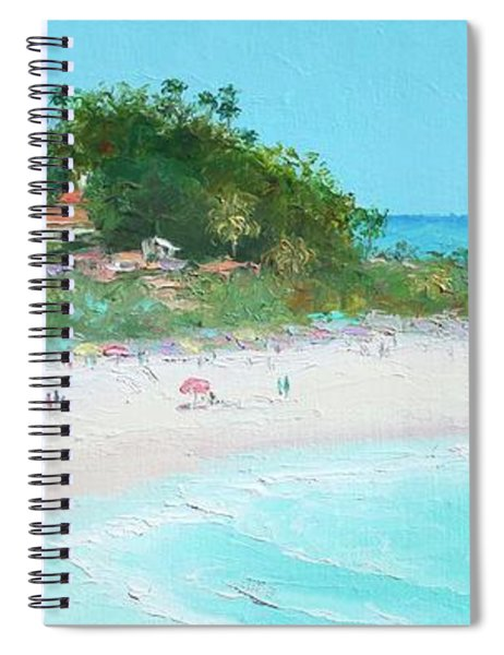 San Clemente Beach Panorama Spiral Notebook