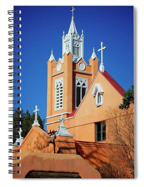 San Felipe De Neri Church, Albuquerque, New Mexico Spiral Notebook