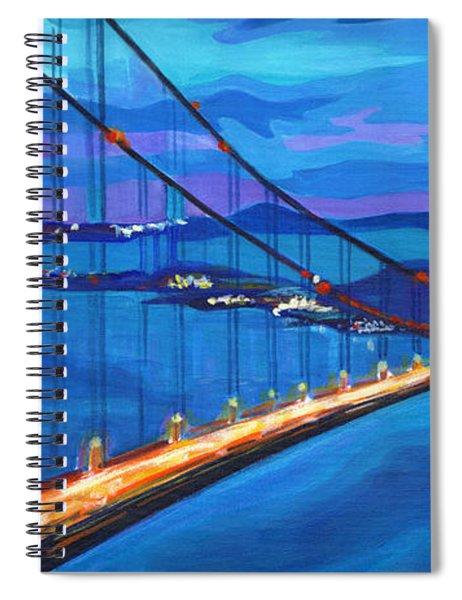 San Francisco Bay Blues  Spiral Notebook