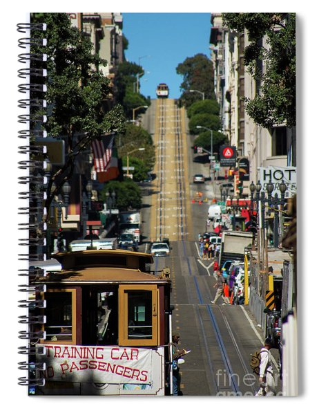 San Francisco Cable Cars Spiral Notebook
