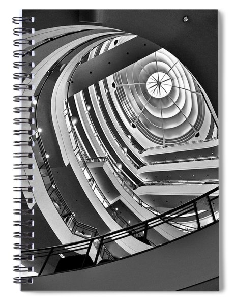 San Francisco - Nordstrom Department Store Architecture Spiral Notebook