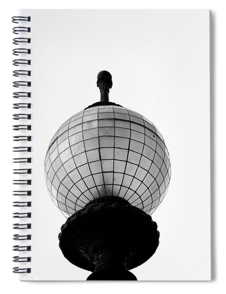 San Francisco Street Light- By Linda Woods Spiral Notebook