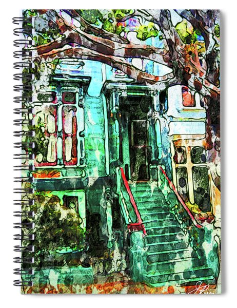 San Francisco Victorian Spiral Notebook