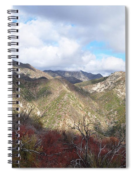 San Gabriel Mountains National Monument Spiral Notebook