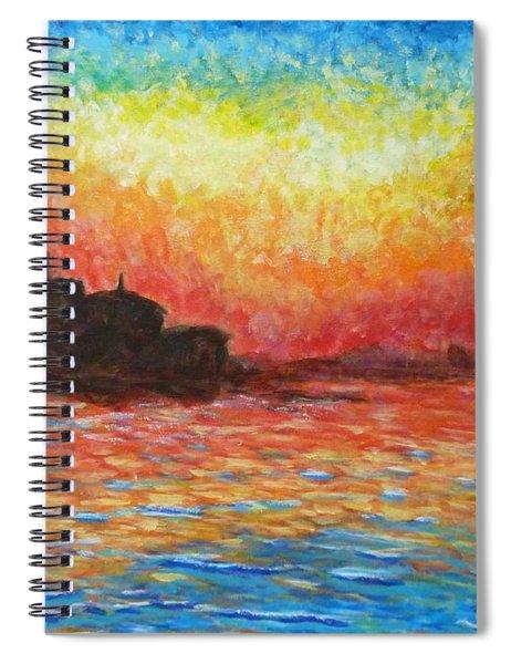 San Giorgio At Dusk Spiral Notebook