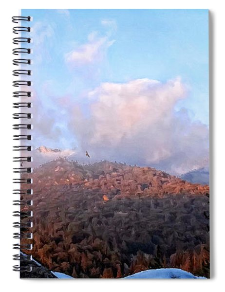 San Jacinto Mountains 2 - California Spiral Notebook
