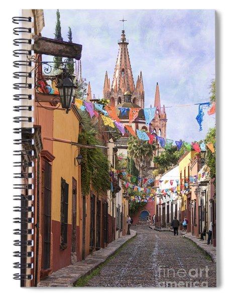 San Miguel Spiral Notebook