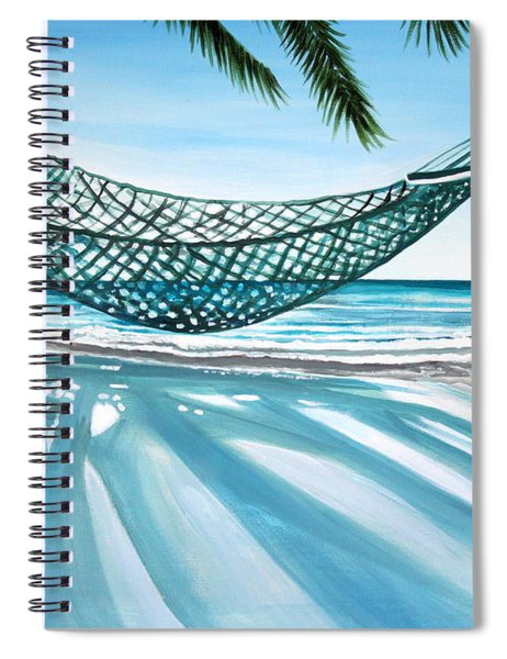 Sand And Shadows Spiral Notebook