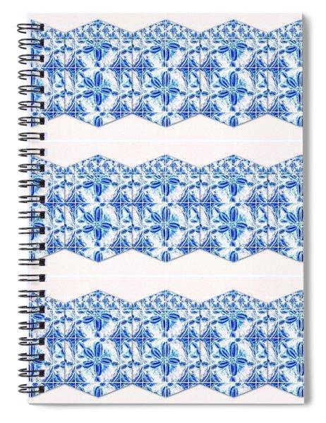 Sand Dollar Delight Pattern 4 Spiral Notebook
