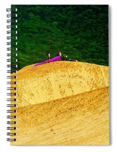 Sand Dune Fun Spiral Notebook