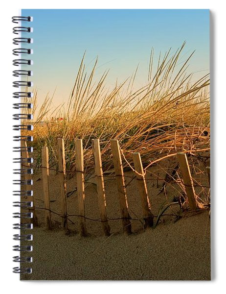 Sand Dune In Late September - Jersey Shore Spiral Notebook