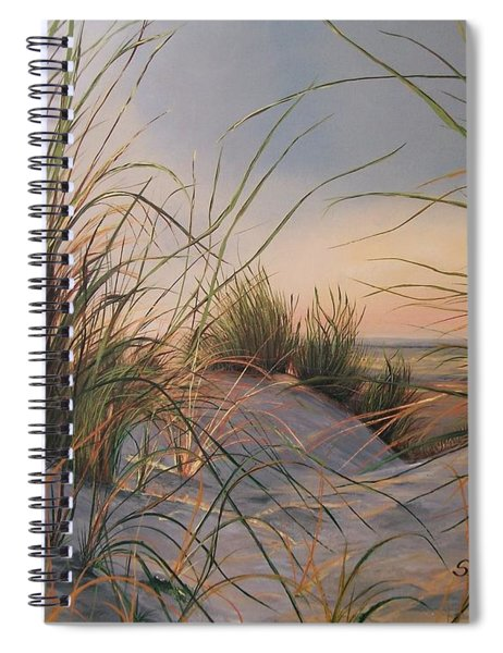 Sand Dunes  Spiral Notebook