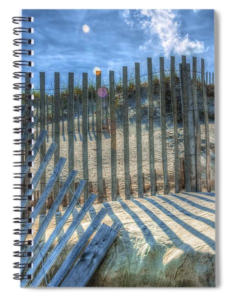 Sand Fence Spiral Notebook