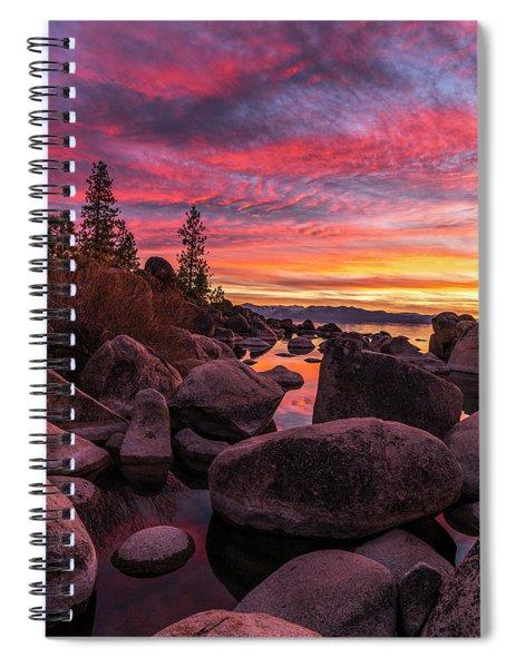 Sand Harbor Beach Spiral Notebook