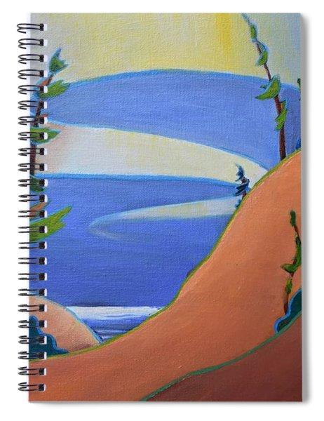 Sandbanks Spiral Notebook